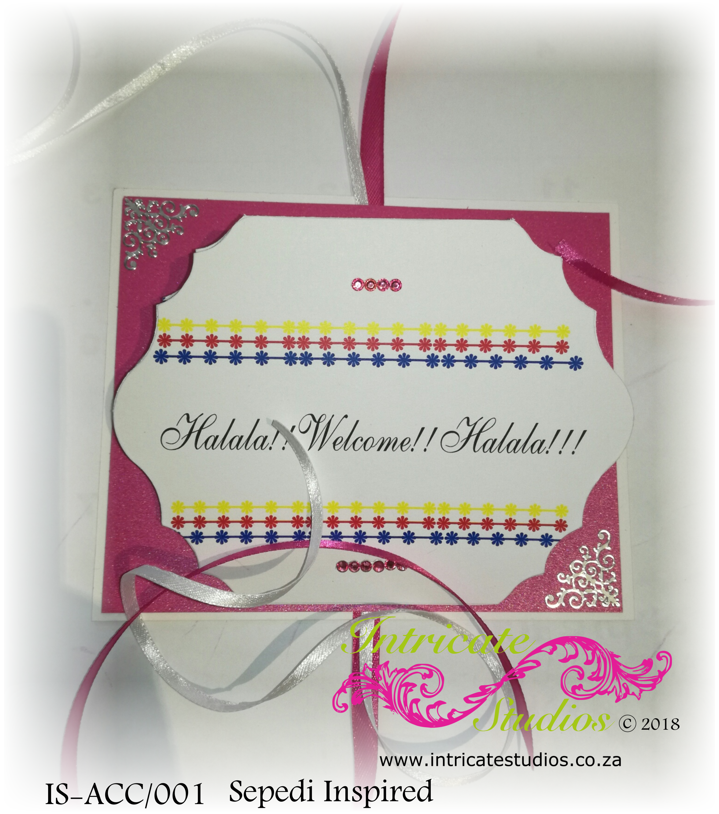Accordion Invitation Untied