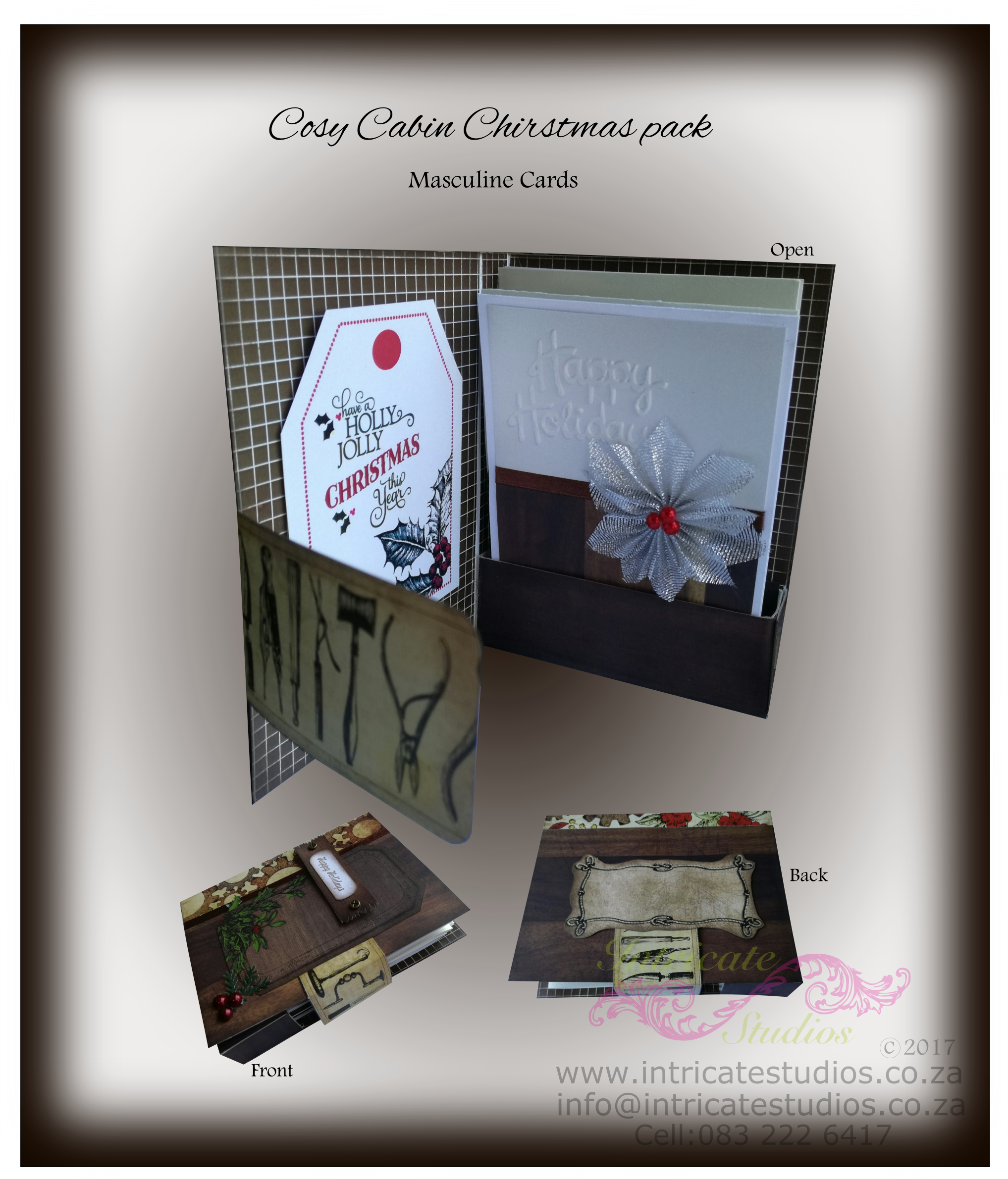 Cosy Cabin Christmas Pack