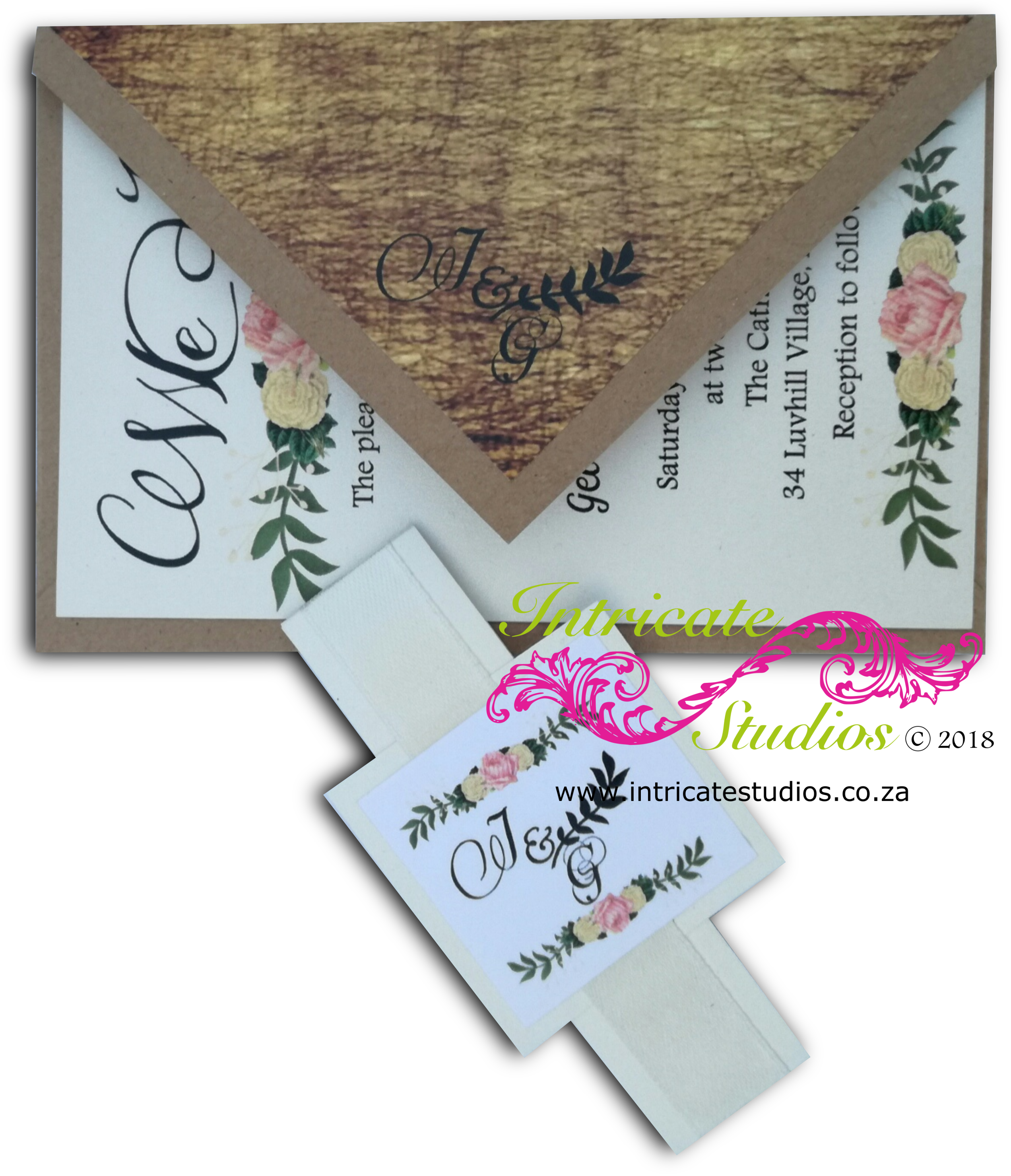 Kraft Paper Invitation 2