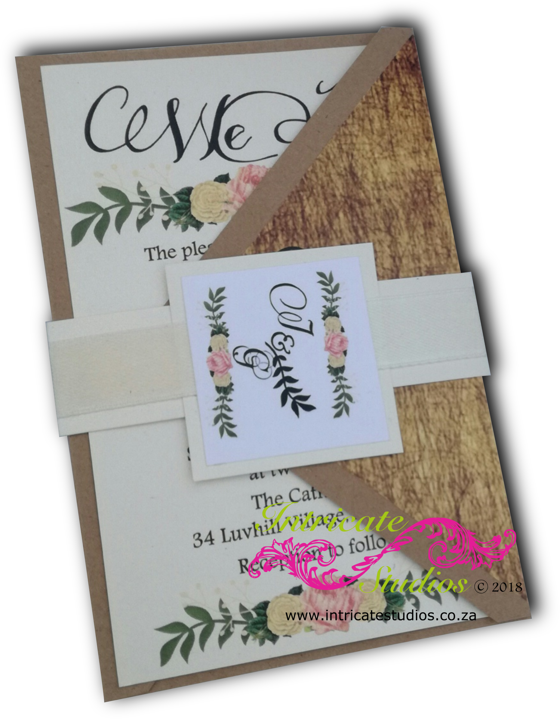 Kraft Paper Invitation 3