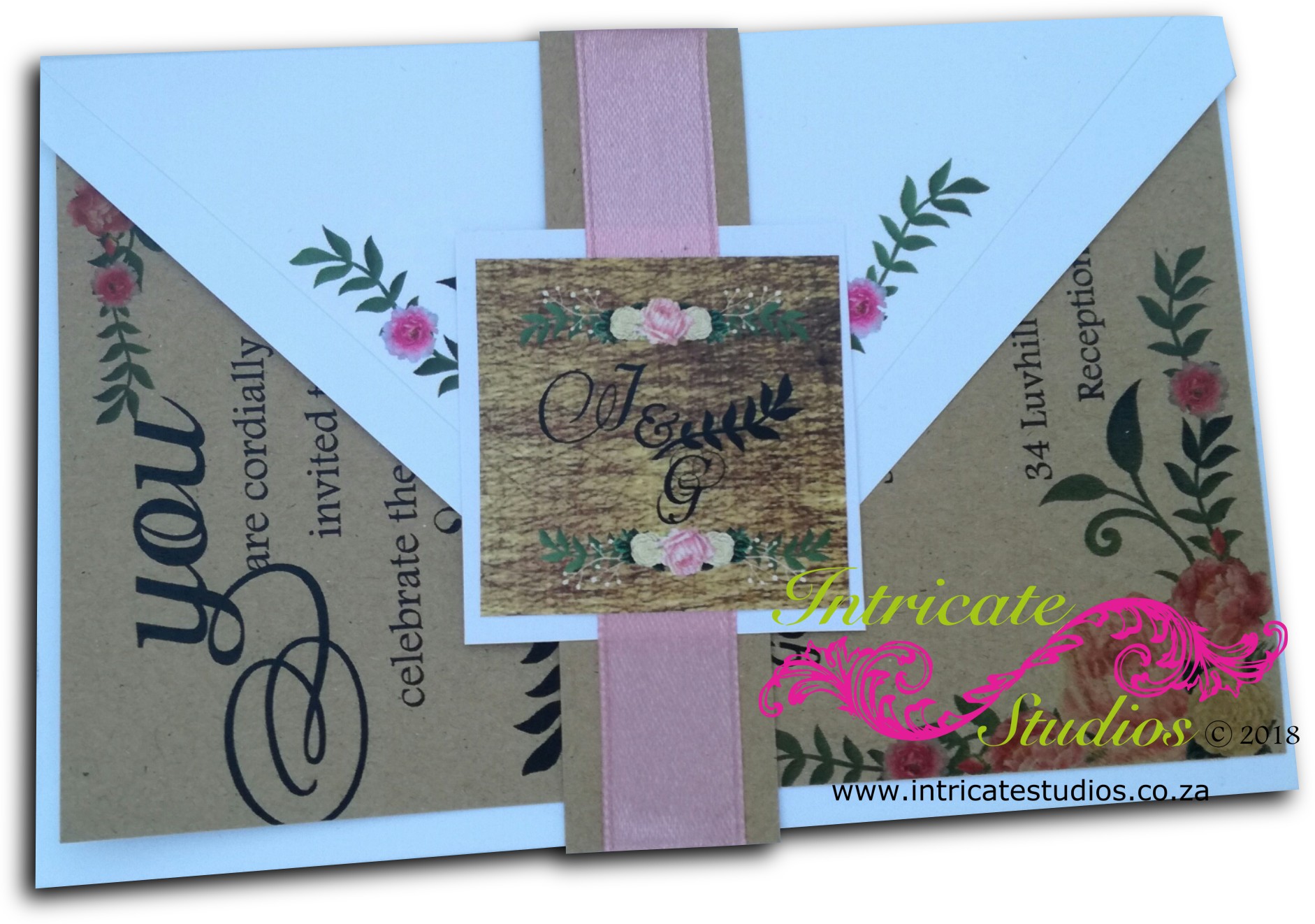 Kraft Paper Invitation 4
